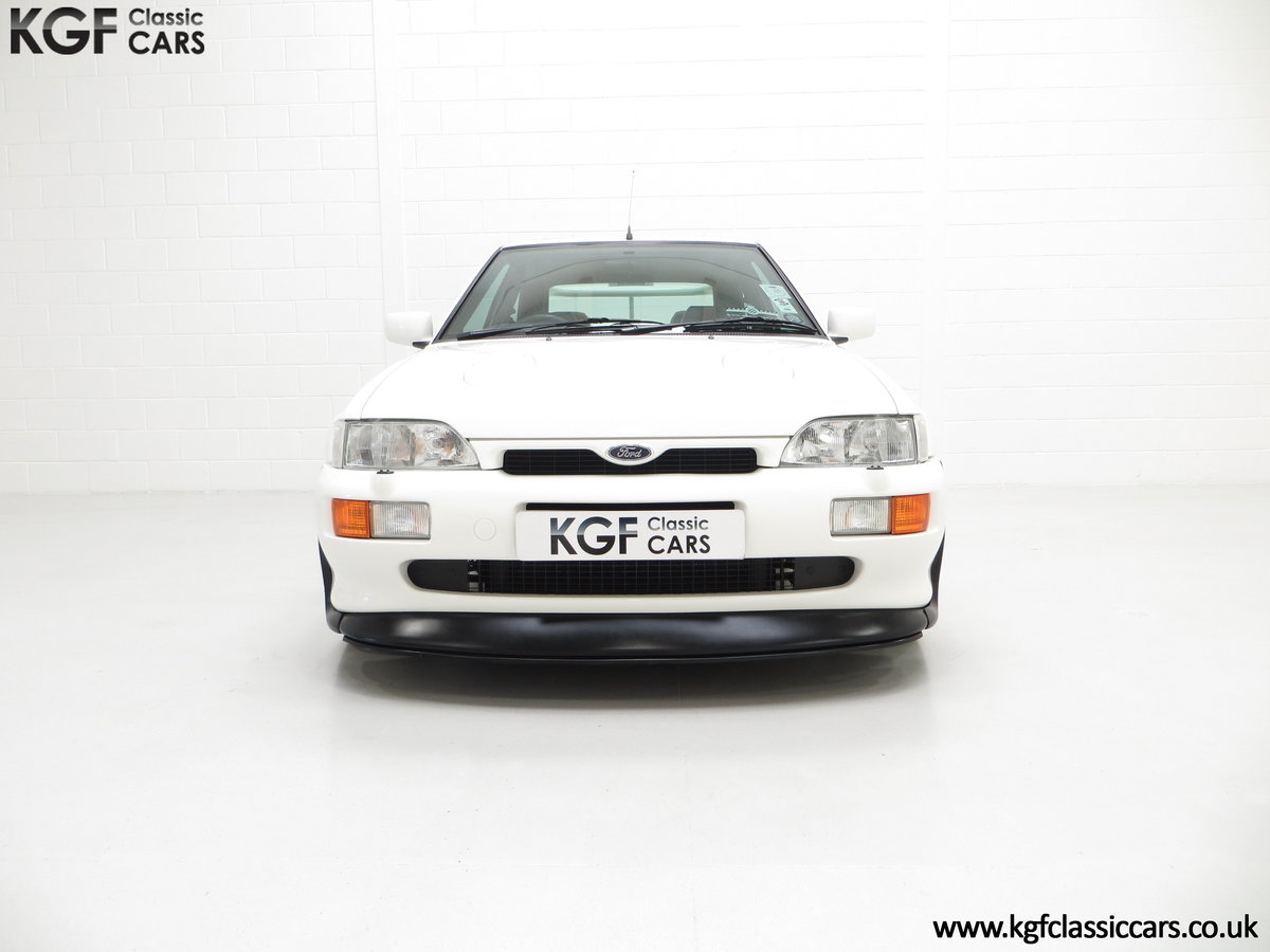 1992 A Big Turbo Ford Escort RS Cosworth Luxury with 16,951 Miles SOLD (picture 3 of 24)