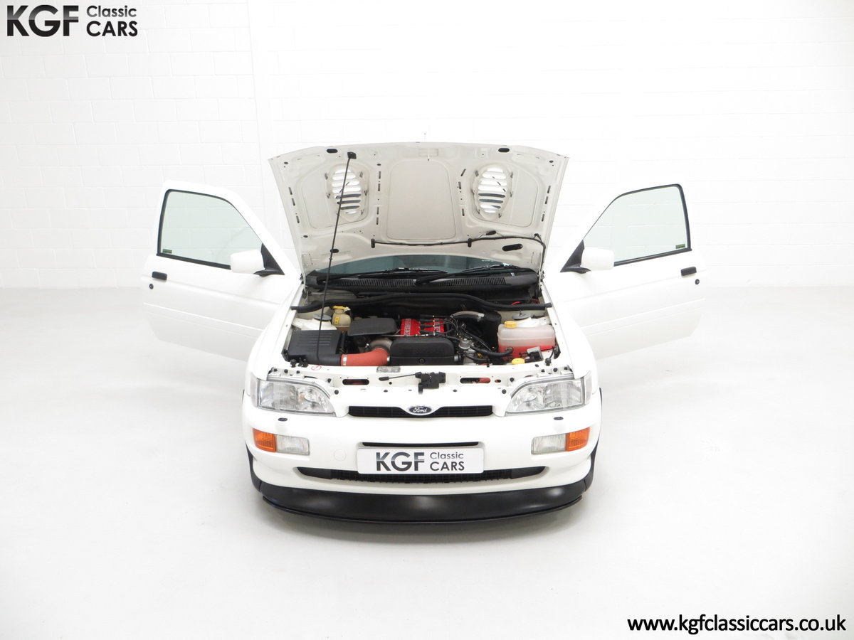 1992 A Big Turbo Ford Escort RS Cosworth Luxury with 16,951 Miles SOLD (picture 4 of 24)
