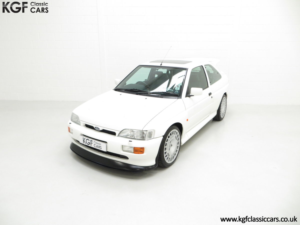 1992 A Big Turbo Ford Escort RS Cosworth Luxury with 16,951 Miles SOLD (picture 5 of 24)