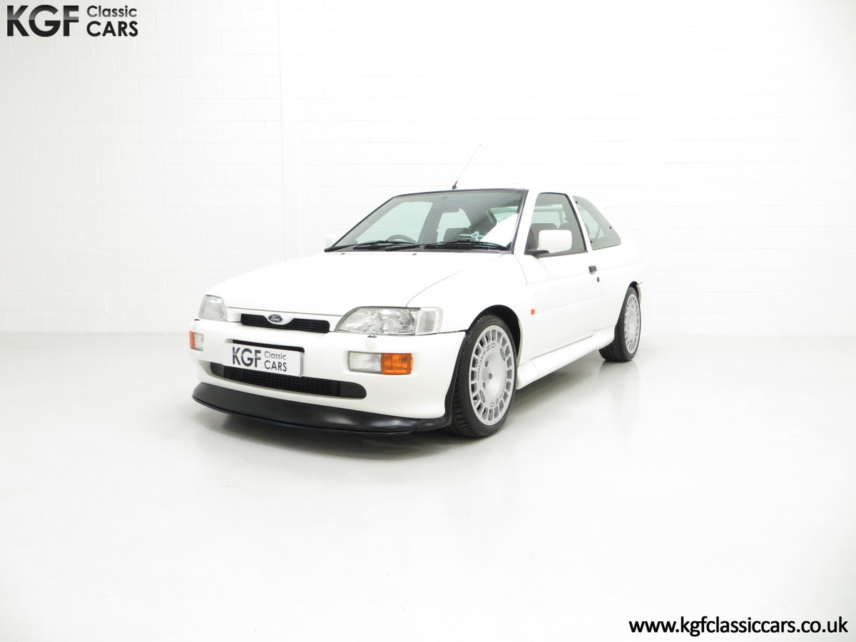 1992 A Big Turbo Ford Escort RS Cosworth Luxury with 16,951 Miles SOLD (picture 6 of 24)