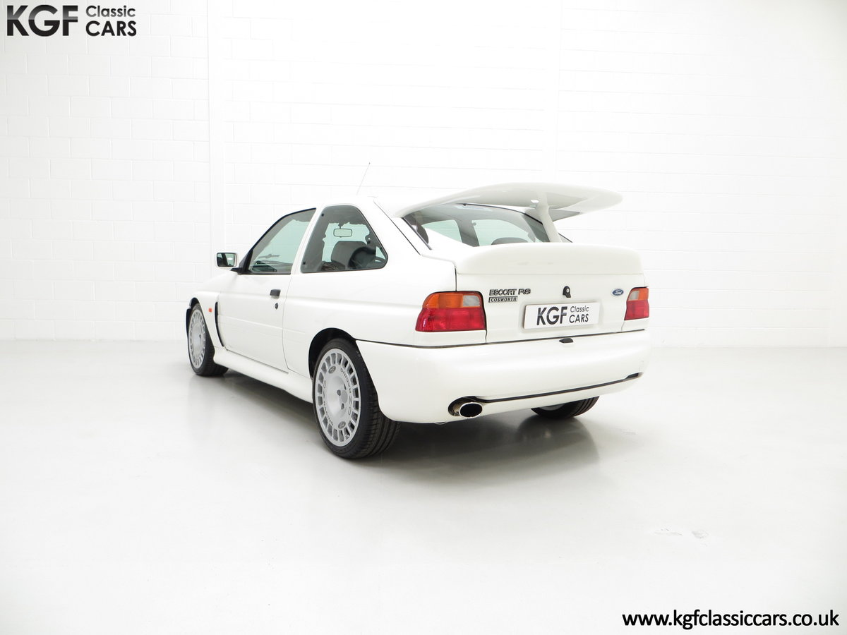 1992 A Big Turbo Ford Escort RS Cosworth Luxury with 16,951 Miles SOLD (picture 8 of 24)