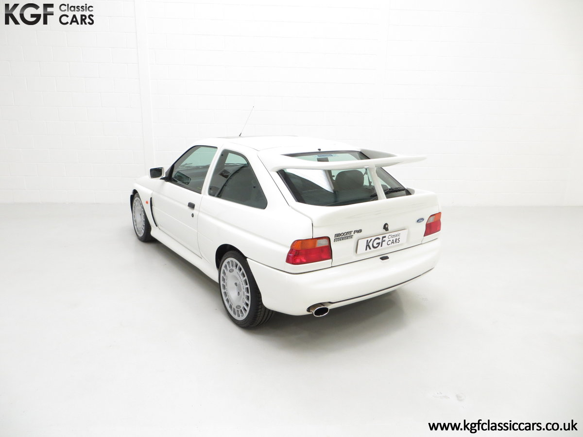 1992 A Big Turbo Ford Escort RS Cosworth Luxury with 16,951 Miles SOLD (picture 9 of 24)