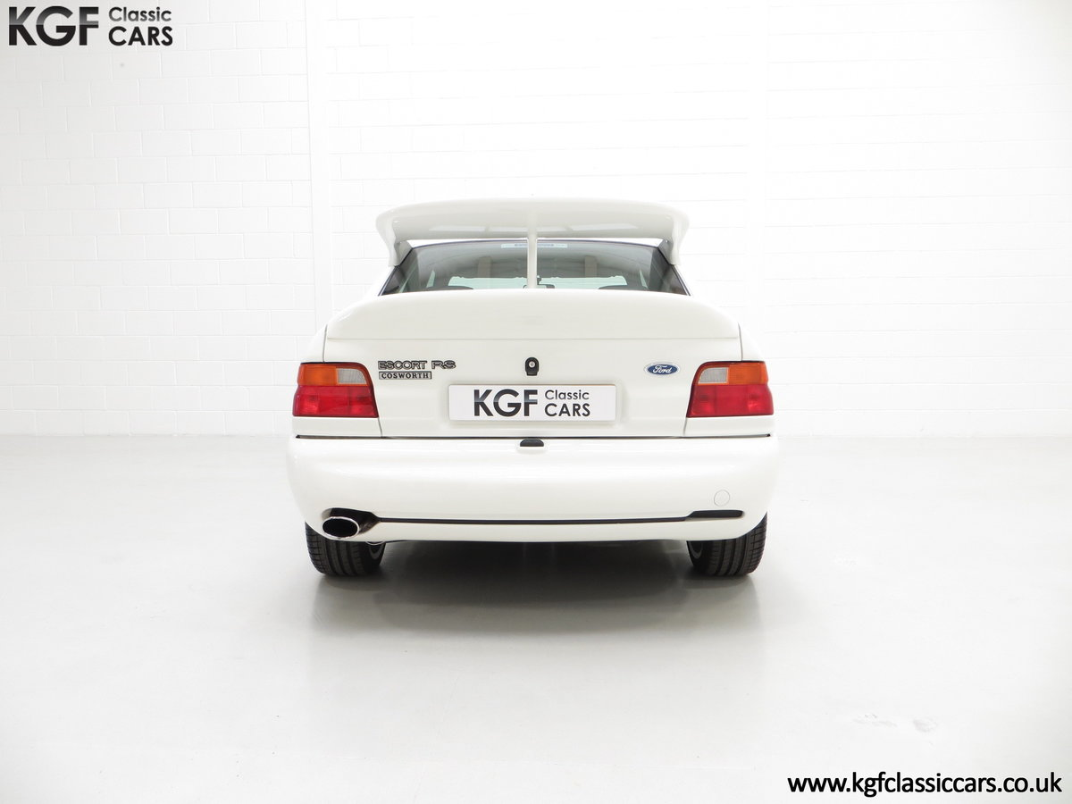 1992 A Big Turbo Ford Escort RS Cosworth Luxury with 16,951 Miles SOLD (picture 10 of 24)
