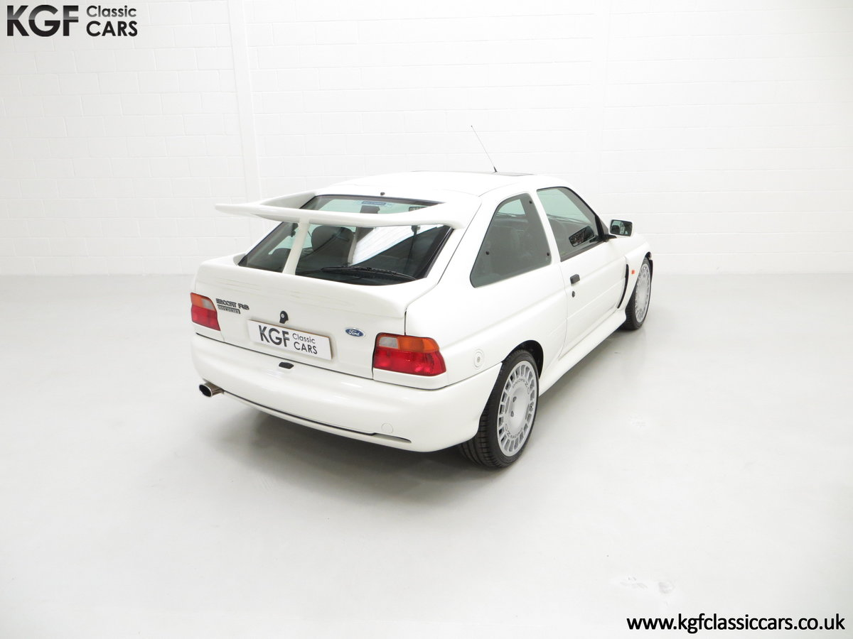 1992 A Big Turbo Ford Escort RS Cosworth Luxury with 16,951 Miles SOLD (picture 12 of 24)