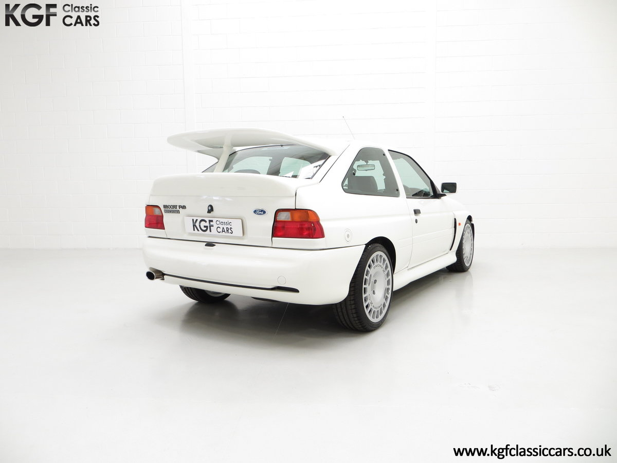 1992 A Big Turbo Ford Escort RS Cosworth Luxury with 16,951 Miles SOLD (picture 13 of 24)