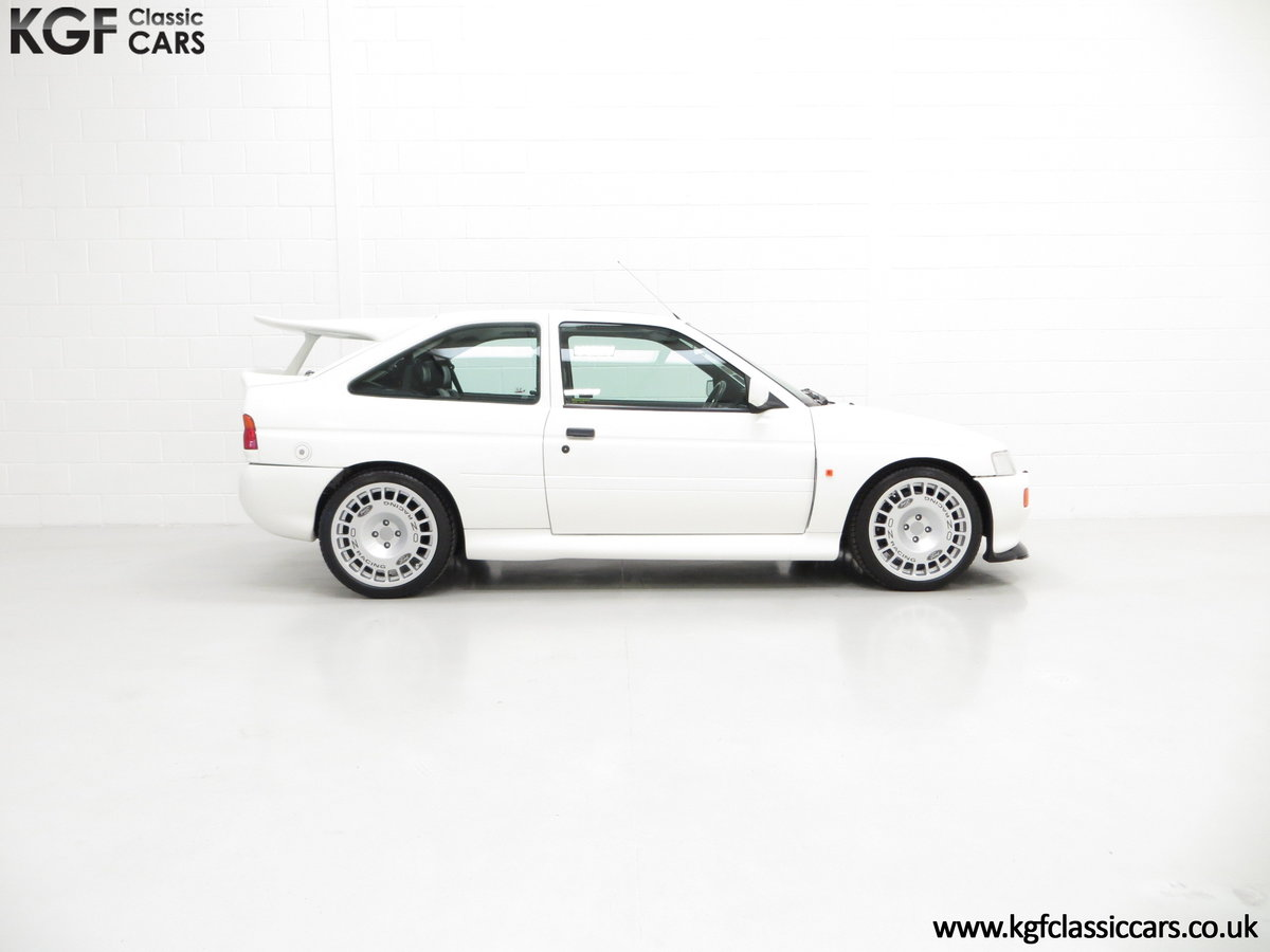 1992 A Big Turbo Ford Escort RS Cosworth Luxury with 16,951 Miles SOLD (picture 14 of 24)