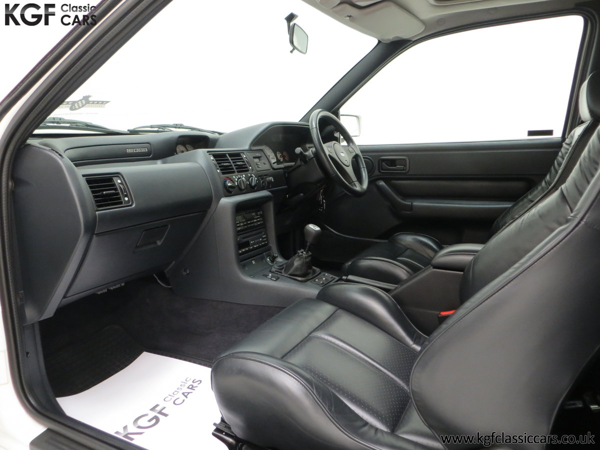 1992 A Big Turbo Ford Escort RS Cosworth Luxury with 16,951 Miles SOLD (picture 22 of 24)