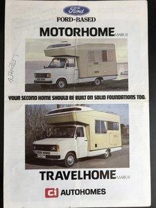 1979 Ford Transit Mk2, Ci Motorhome MK3,Historic status