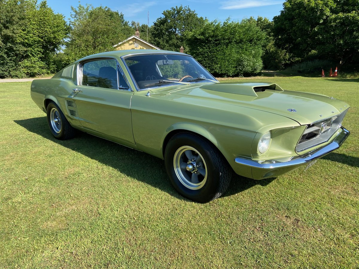 1967 Ford Mustang Fastback Extremely solid with a 351 V8  For Sale (picture 1 of 10)