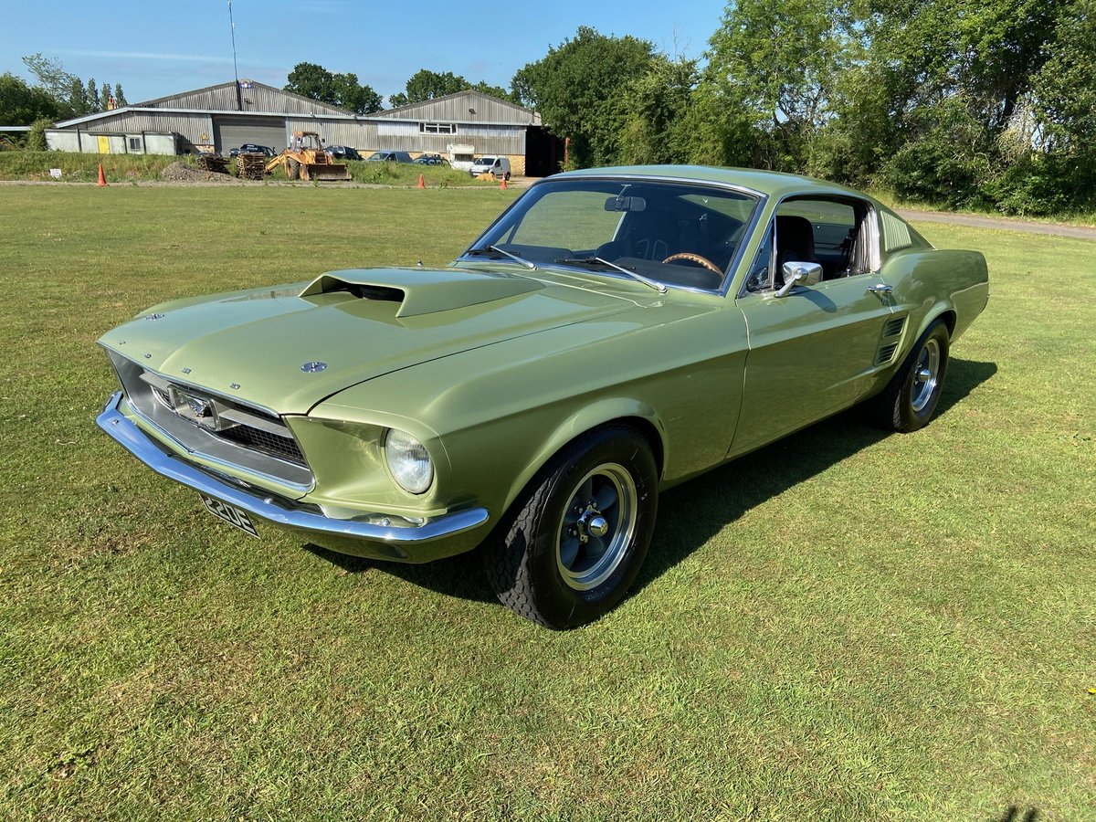 1967 Ford Mustang Fastback Extremely solid with a 351 V8  For Sale (picture 2 of 10)