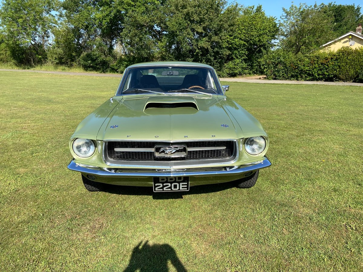 1967 Ford Mustang Fastback Extremely solid with a 351 V8  For Sale (picture 3 of 10)