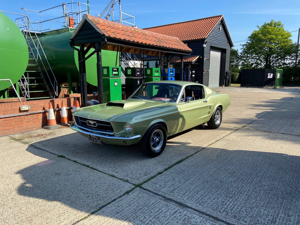 1967 Ford Mustang Fastback Extremely solid with a 351 V8  For Sale (picture 5 of 10)