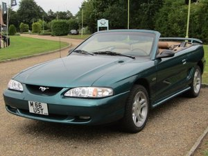 1998 Ford Mustang 4.6 Convertible LHD at ACA 22nd August