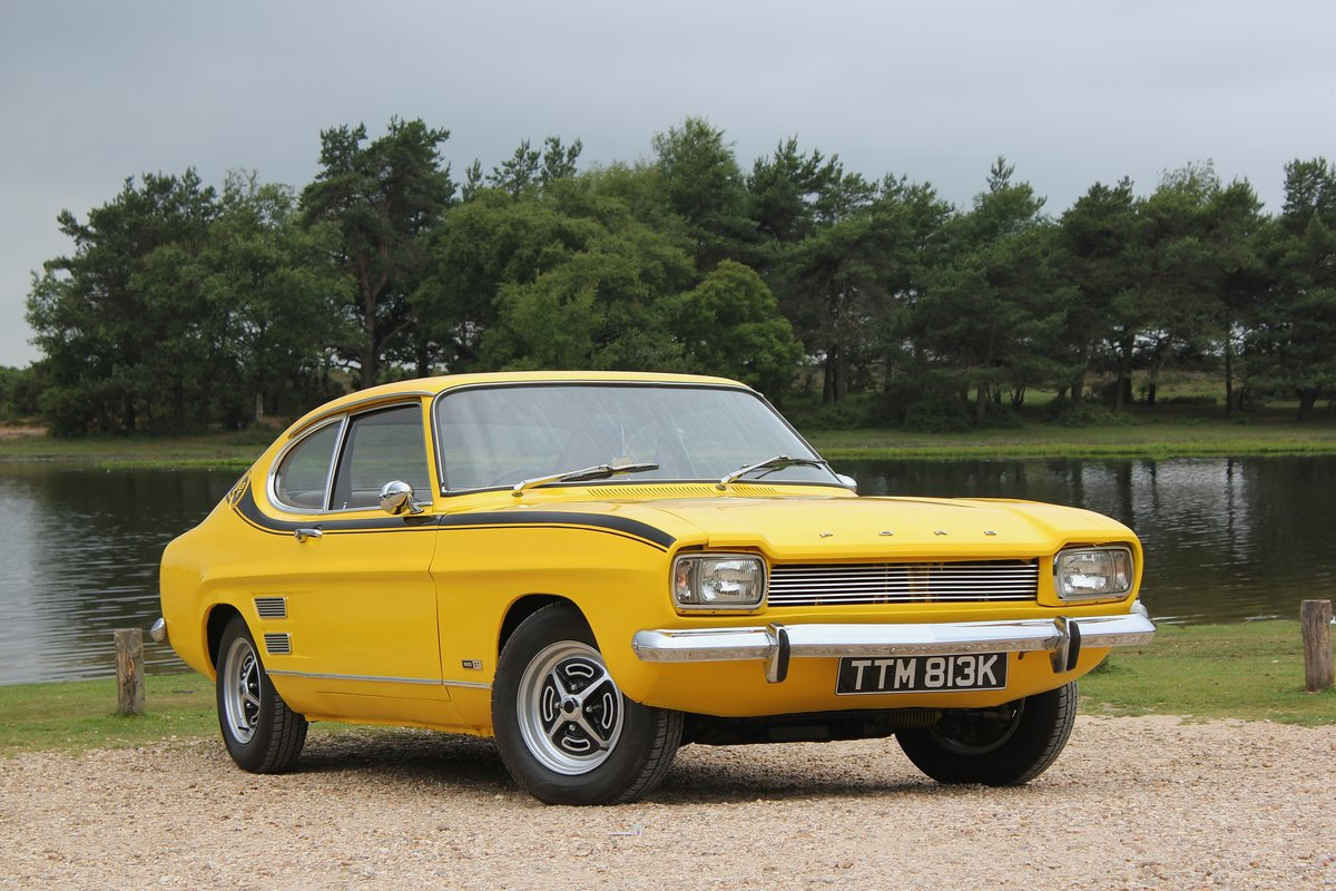 1971 Ford Capri 1600 GT For sale  For Sale (picture 1 of 6)