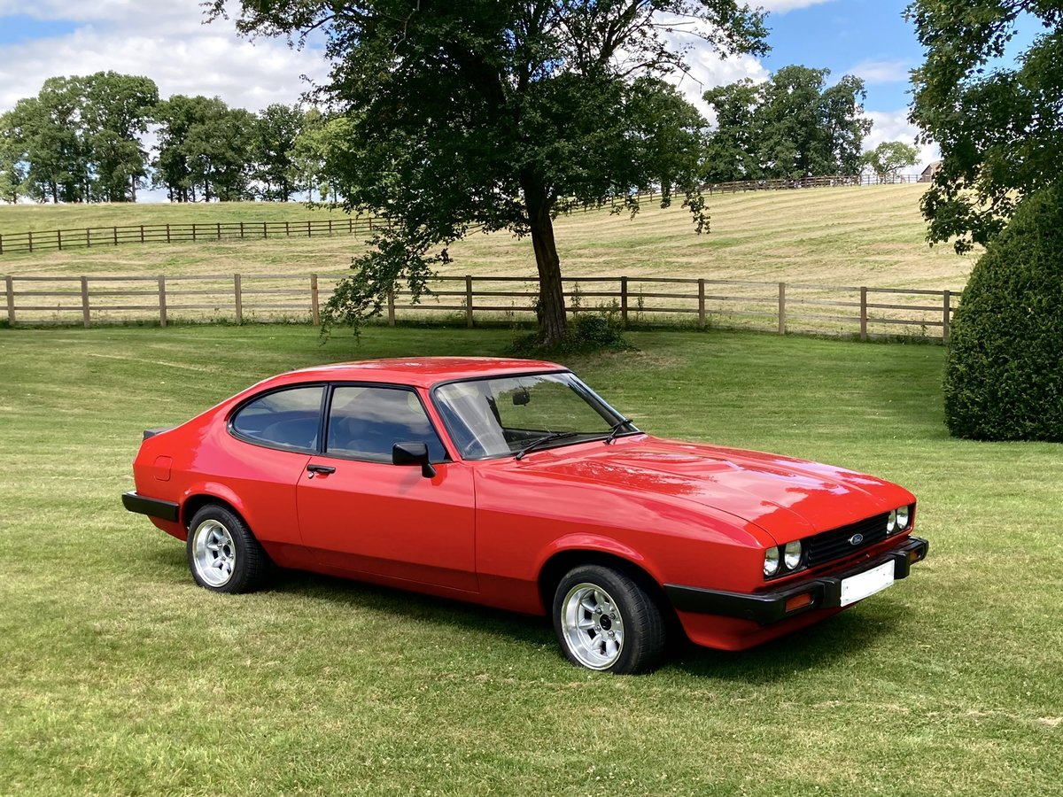 1986 Ford Capri - 2.0 MK3 - Full History & Stunning Car For Sale (picture 1 of 6)