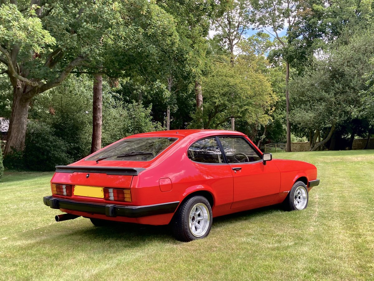 1986 Ford Capri - 2.0 MK3 - Full History & Stunning Car For Sale (picture 3 of 6)