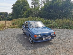 1986 Ford Fiesta 1.1L Popular Plus