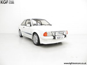 1985 A Ford Escort Series 1 RS Turbo with 17,894 Miles SOLD