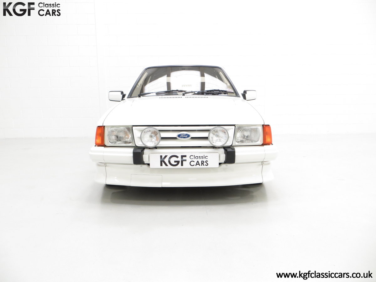 1985 A Ford Escort Series 1 RS Turbo with 17,894 Miles SOLD (picture 3 of 24)