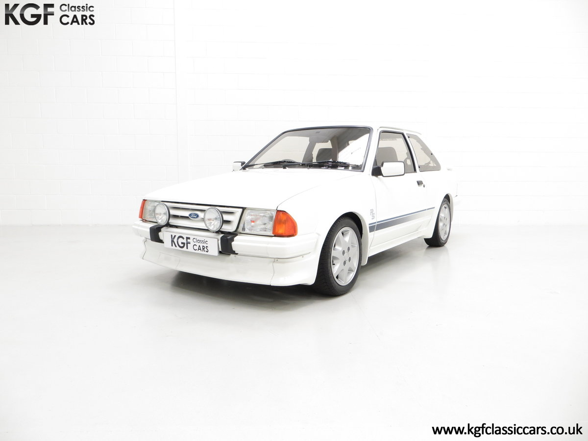 1985 A Ford Escort Series 1 RS Turbo with 17,894 Miles SOLD (picture 6 of 24)