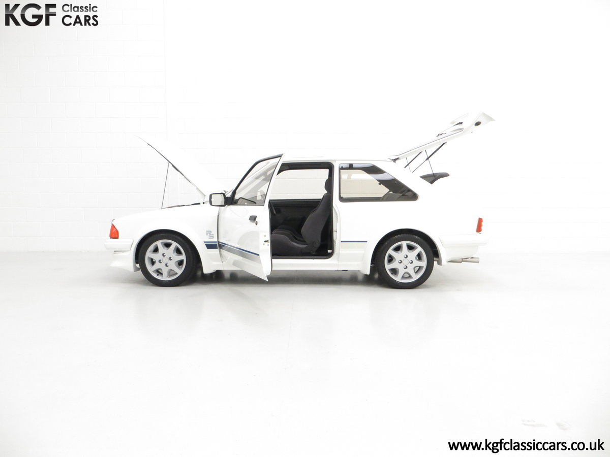 1985 A Ford Escort Series 1 RS Turbo with 17,894 Miles SOLD (picture 7 of 24)