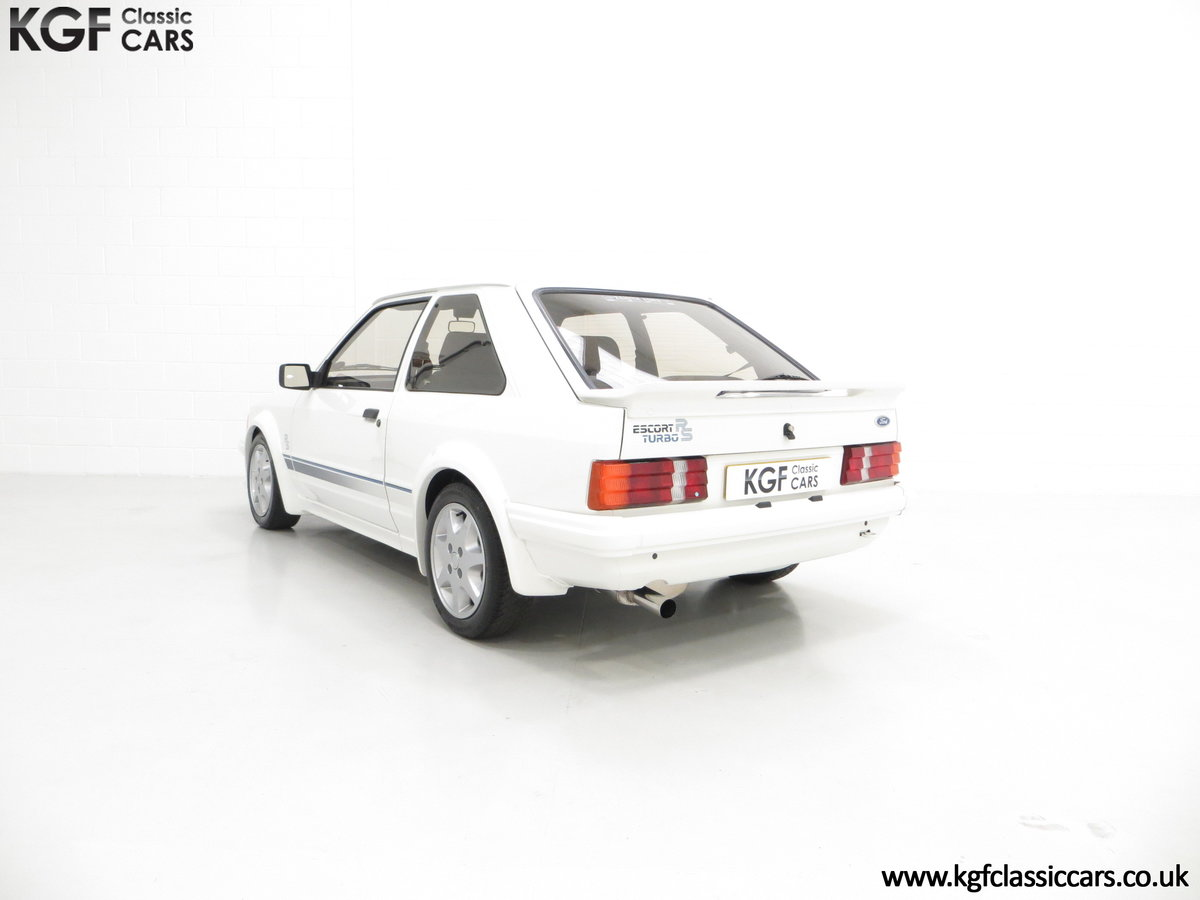 1985 A Ford Escort Series 1 RS Turbo with 17,894 Miles SOLD (picture 8 of 24)