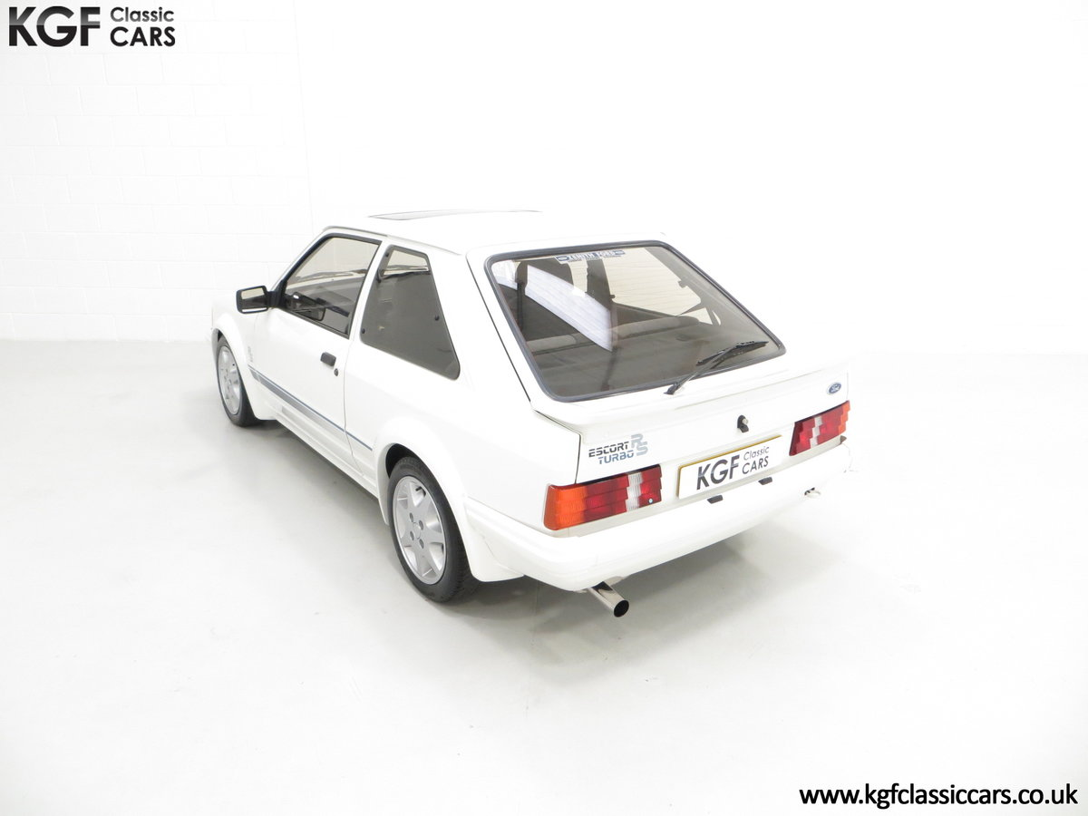 1985 A Ford Escort Series 1 RS Turbo with 17,894 Miles SOLD (picture 9 of 24)