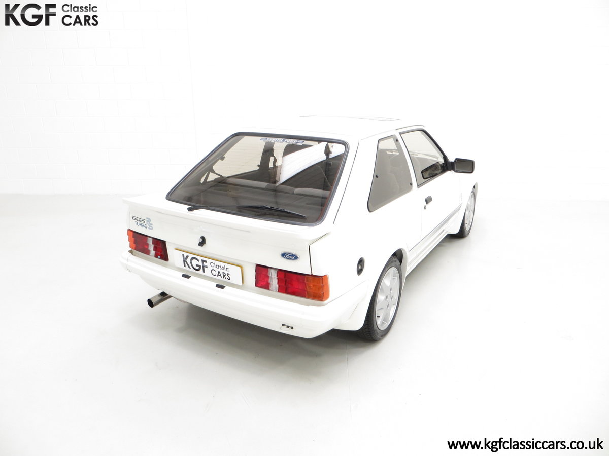1985 A Ford Escort Series 1 RS Turbo with 17,894 Miles SOLD (picture 12 of 24)