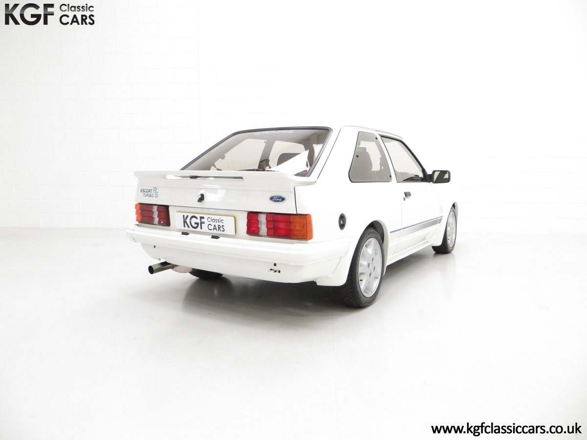 1985 A Ford Escort Series 1 RS Turbo with 17,894 Miles SOLD (picture 13 of 24)