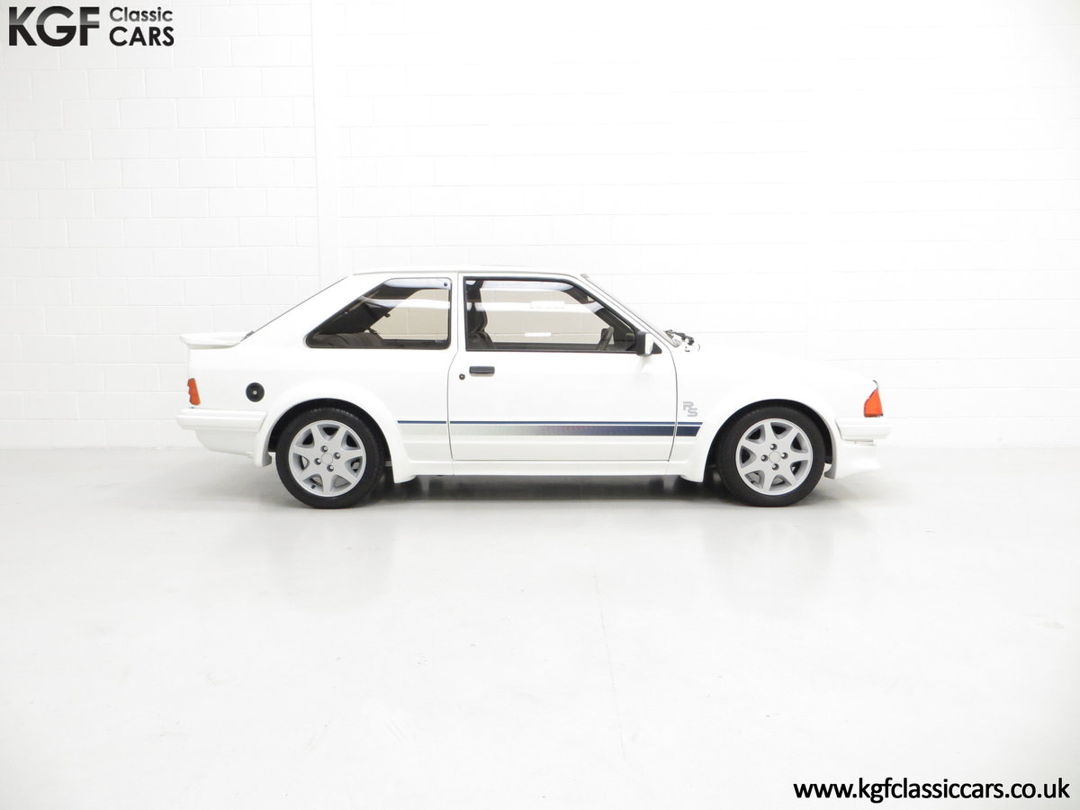 1985 A Ford Escort Series 1 RS Turbo with 17,894 Miles SOLD (picture 14 of 24)
