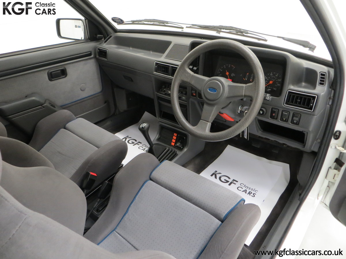 1985 A Ford Escort Series 1 RS Turbo with 17,894 Miles SOLD (picture 21 of 24)