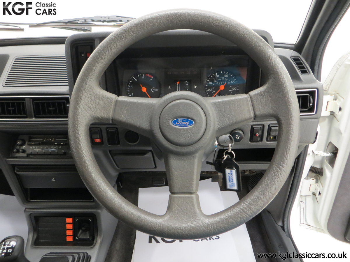 1985 A Ford Escort Series 1 RS Turbo with 17,894 Miles SOLD (picture 22 of 24)