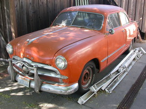 1950 CALIFORNIA SHOEBOX FORD 12,250 SHIPPING INCLUDED