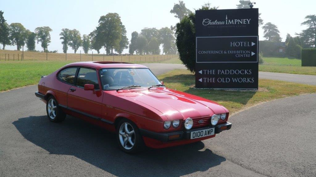 Ford Capri 2.8 Turbo Technics 1987 - one Owner  For Sale (picture 1 of 6)