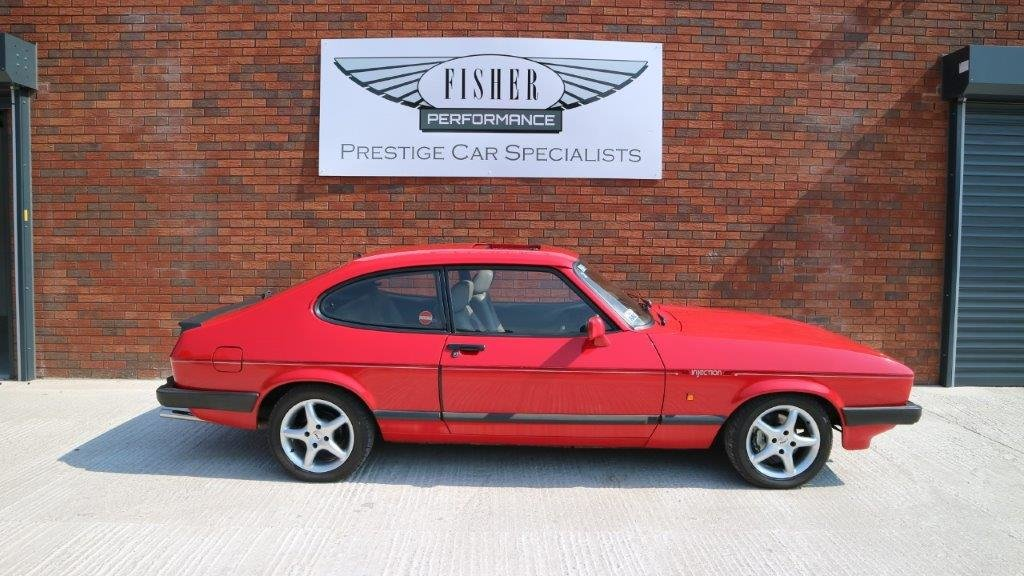 Ford Capri 2.8 Turbo Technics 1987 - one Owner  For Sale (picture 2 of 6)