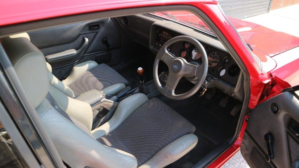 Ford Capri 2.8 Turbo Technics 1987 - one Owner  For Sale (picture 3 of 6)