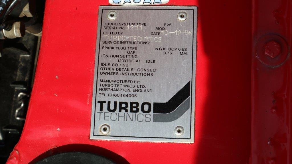 Ford Capri 2.8 Turbo Technics 1987 - one Owner  For Sale (picture 4 of 6)