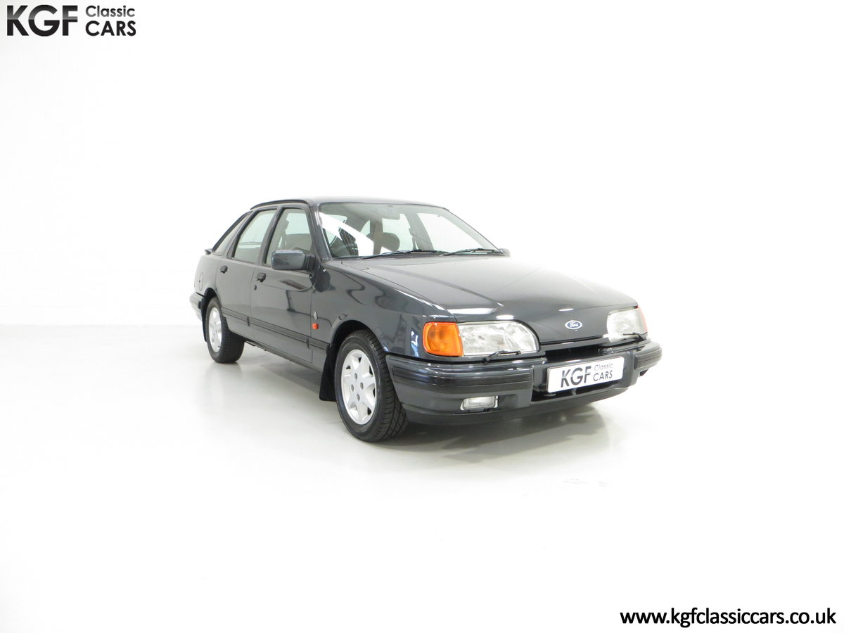 1990 A Ford Sierra XR4x4 with Just 22,404 Miles and Two Owners SOLD (picture 1 of 24)