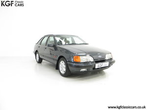 A Ford Sierra XR4x4 with Just 22,404 Miles and Two Owners