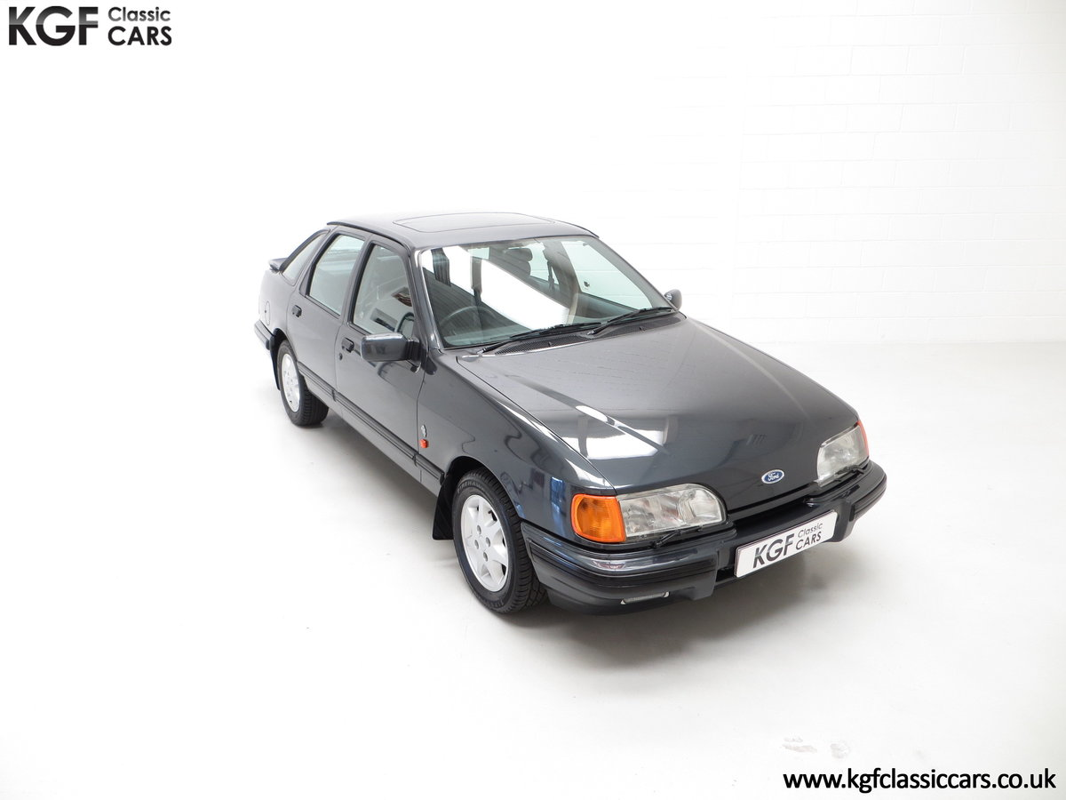 1990 A Ford Sierra XR4x4 with Just 22,404 Miles and Two Owners SOLD (picture 2 of 24)