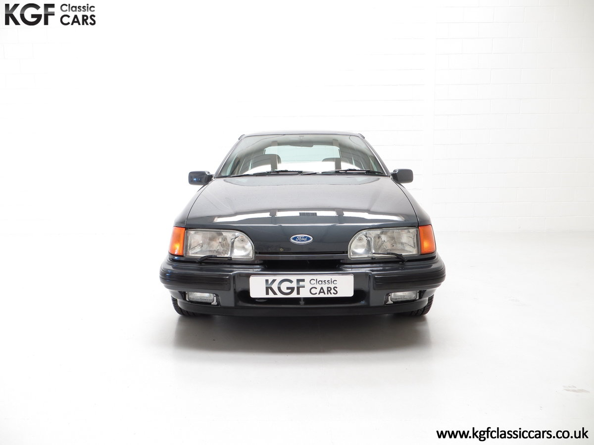 1990 A Ford Sierra XR4x4 with Just 22,404 Miles and Two Owners SOLD (picture 3 of 24)