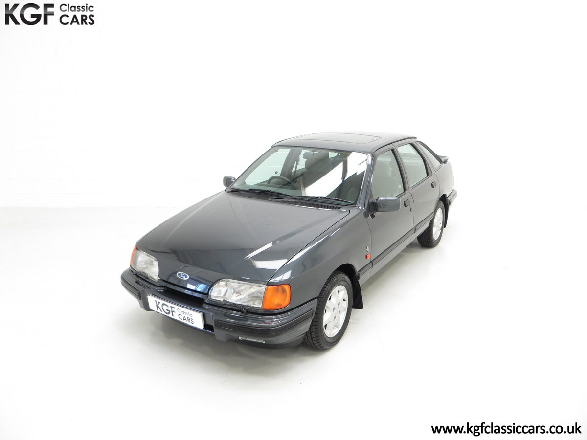 1990 A Ford Sierra XR4x4 with Just 22,404 Miles and Two Owners SOLD (picture 5 of 24)