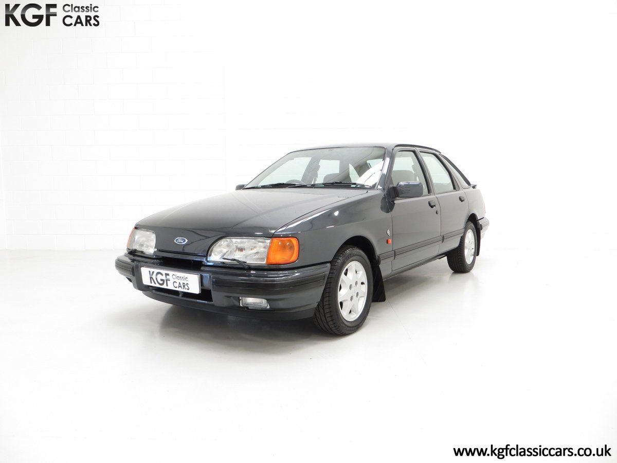 1990 A Ford Sierra XR4x4 with Just 22,404 Miles and Two Owners SOLD (picture 6 of 24)