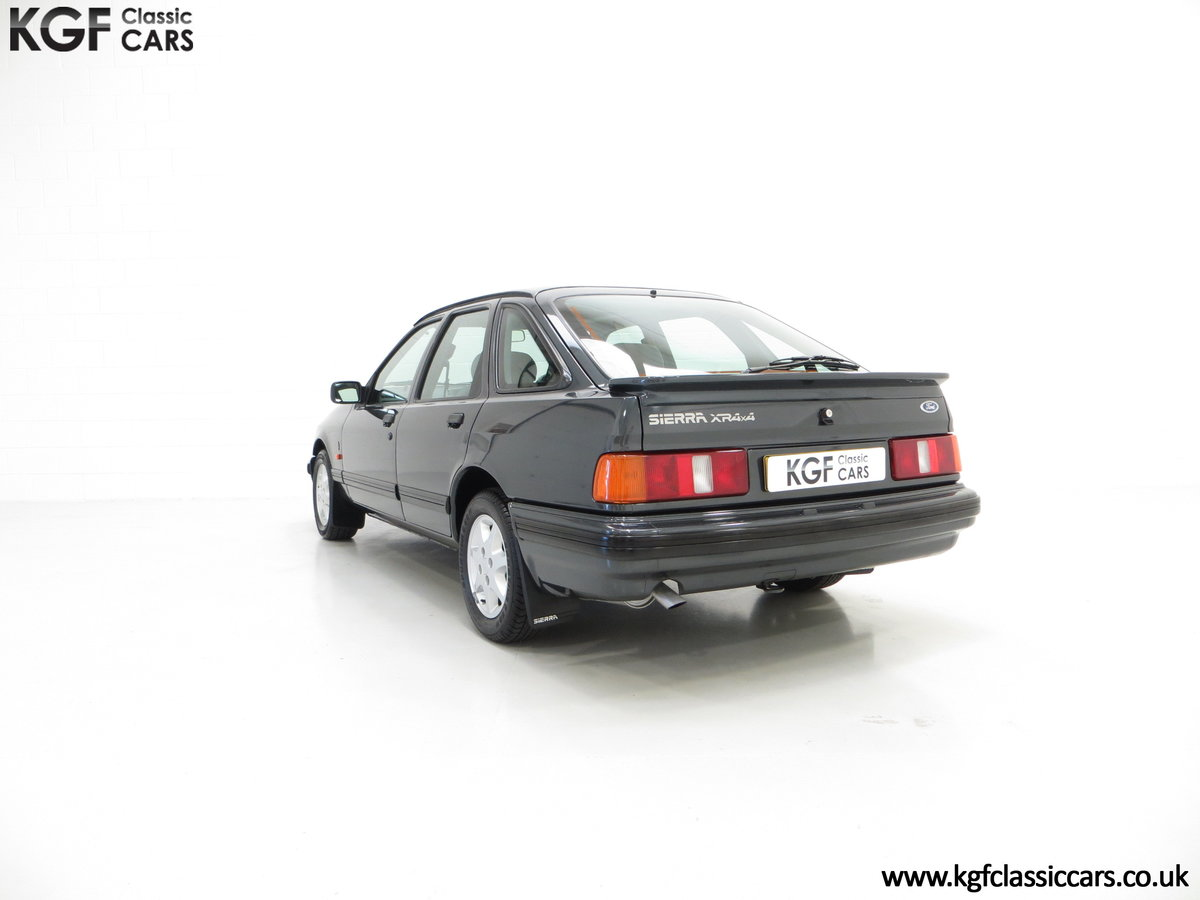 1990 A Ford Sierra XR4x4 with Just 22,404 Miles and Two Owners SOLD (picture 8 of 24)