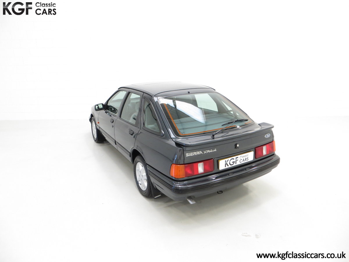 1990 A Ford Sierra XR4x4 with Just 22,404 Miles and Two Owners SOLD (picture 9 of 24)