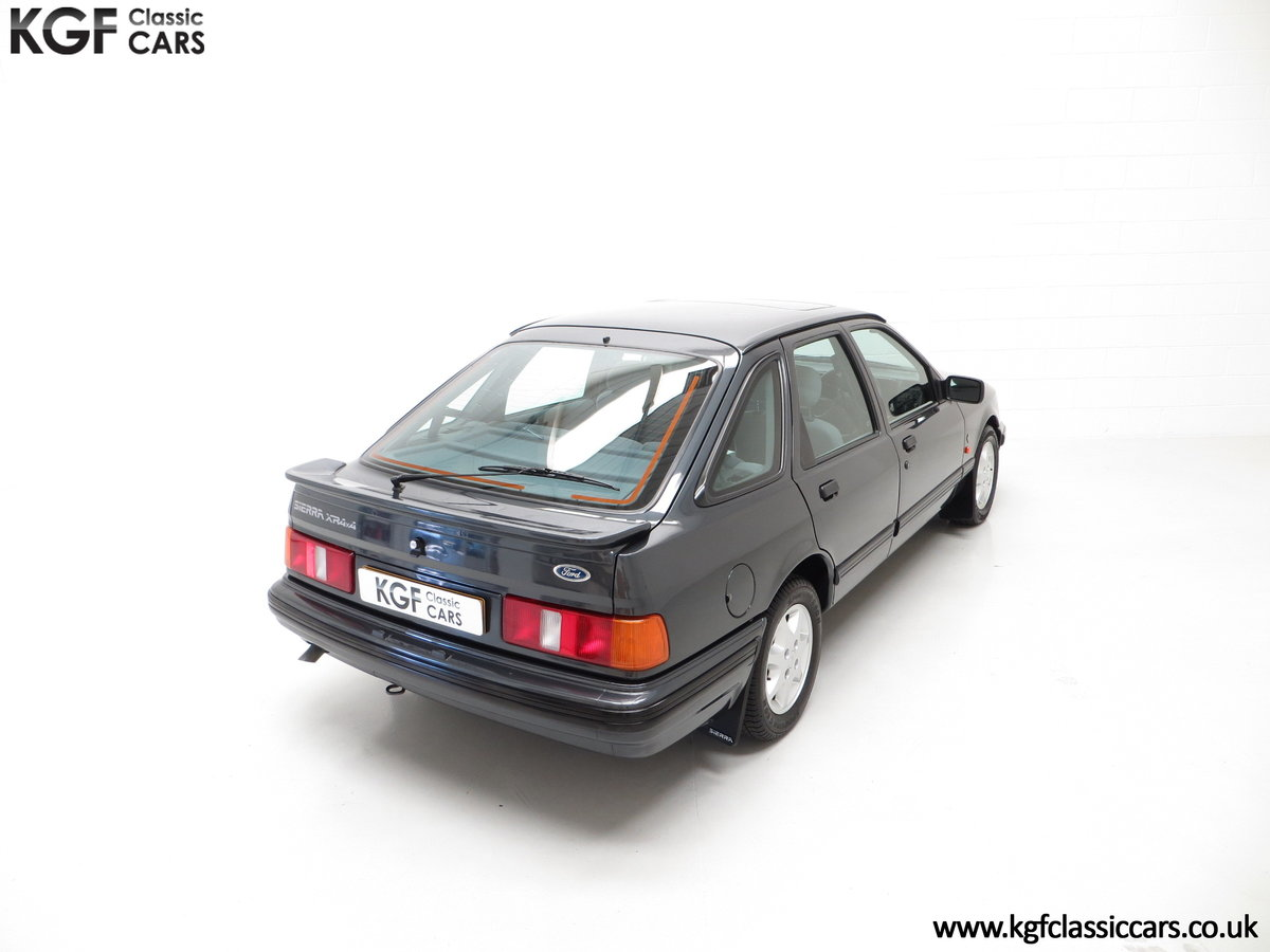 1990 A Ford Sierra XR4x4 with Just 22,404 Miles and Two Owners SOLD (picture 12 of 24)