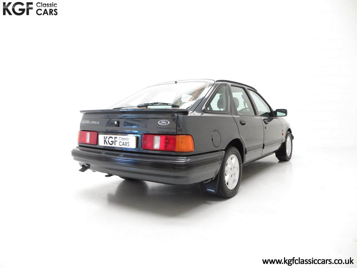 1990 A Ford Sierra XR4x4 with Just 22,404 Miles and Two Owners SOLD (picture 13 of 24)