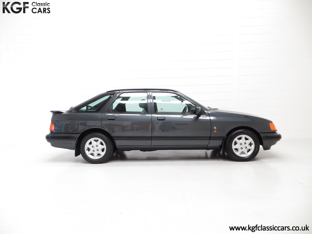 1990 A Ford Sierra XR4x4 with Just 22,404 Miles and Two Owners SOLD (picture 14 of 24)