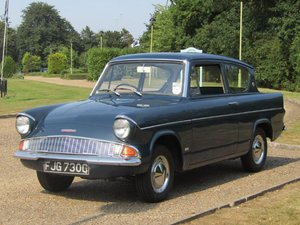 1965 Ford Anglia 105E De-Luxe at ACA 22nd August
