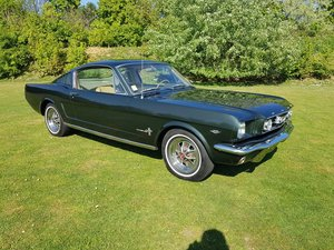 1965 Ford Mustang Fastback, insanely solid California car For Sale